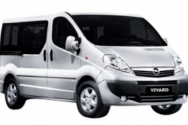 location voiture Martinique aéroport Fort de France : Opel Vivaro - Popscar